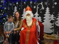 Mikołaj w przedszkolu w Ćwikowie 1