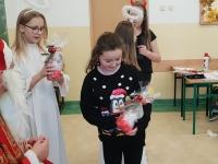 Św. Mikołaj w klasie 4c 1