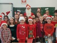 Św. Mikołaj w klasie 4c 10