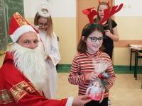 Św. Mikołaj w klasie 4c 2