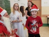 Św. Mikołaj w klasie 4c 3