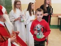 Św. Mikołaj w klasie 4c 4