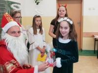 Św. Mikołaj w klasie 4c 8