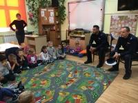 Wizyta policjantów w naszym przedszkolu  1