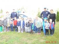 Wizyta policjantów w naszym przedszkolu  2
