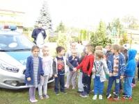 Wizyta policjantów w naszym przedszkolu  3