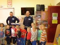 Wizyta policjantów w naszym przedszkolu  4