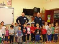 Wizyta policjantów w naszym przedszkolu  5