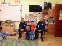 Wizyta policjantów w naszym przedszkolu  6